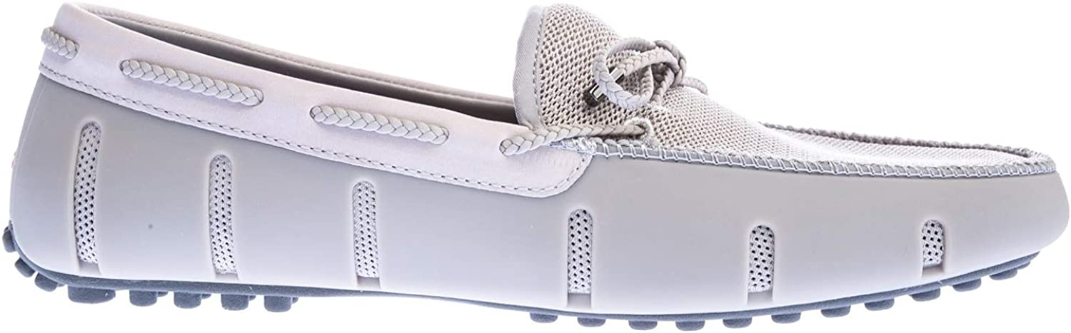 Swims Brade Lace Lace Lace Lux Loafer Driver, Alloy grå  bästa pris