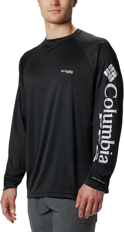 Columbia Men's PFG Terminal Tackle UPF 50 Long Sleeve Fishing Shirt