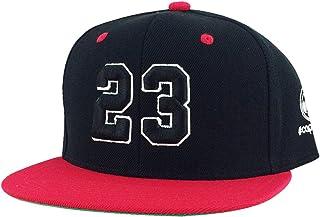 ee7843cac09e9e Number  23 Black White Red Visor 2tone Hip Hop Snapback Hat Cap X Air Jordan