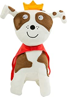 North American Bear Company Todd Parr Dog Plush, Tan/White