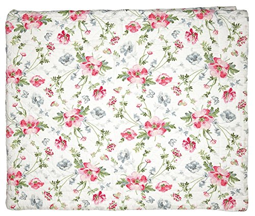 Greengate QUIBED180MEA0102 Meadow Tagesdecke weiss 180 x 230 cm