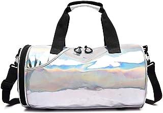 Omeny Sporttasche für Schwimmen und Yoga, faltbar, Reisetasche, tragbare Tragetasche aus Segeltuch