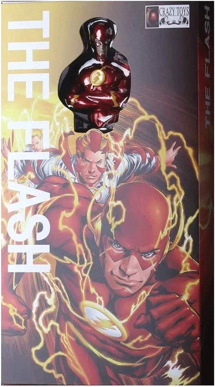 tomar hasta un 70% de descuento Wen Wen Wen Zhe Comic Hero DC Universe Justice League Flash Modelo de Juguete Decoración Modelo de Juego  salida para la venta