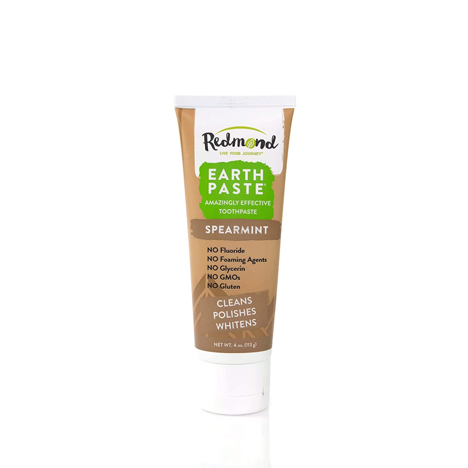 Redmond Earthpaste - security Natural Non-Fluoride Flavor Cheap mail order shopping Sweet Spearmint