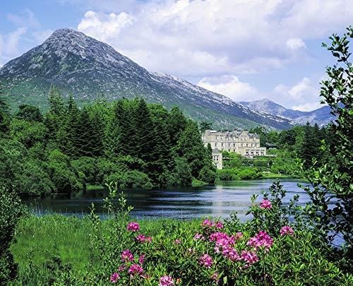 Posterazzi DPI1801701 Ballynahinch, Connemara, Co Galway, Ireland Castle (Now A Hotel) On an Estate Photo Print, 17 x 14, Multi