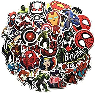 Car Stickers 100pcs Marvel Car Laptop Motorcycle Bicycle Luggage Decal Graffiti Patches Skateboard Sticker