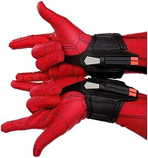 Includes Six Exclusive Pins /& Two Faux Leather Bracelets Marvels Spider-Man Exclusive Spider-Punk Web-Shooter Bracelets /& Enamel Pin Set