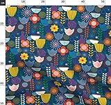 Rebe, Tulpe, Kleidung, skandinavisch, Gänseblümchen,