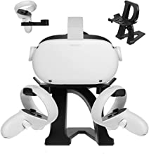 Esimen New Upgrade VR Stand for Oculus Quest 2/Quest/Rift S/HTC Vive Pro/Valve Index VR Headset Letter Modeling Display Ho...