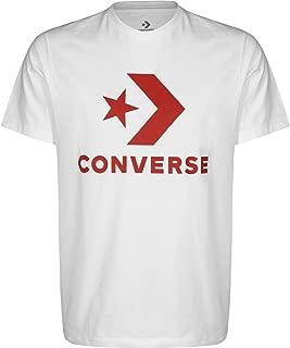 Converse Star Chevron T-Shirt For Men OPTICAL WHITE - S