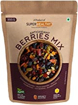 Super Healthy Berries Mix - Dried Mixed Berries | Organic Berry Mix | 7+ Varieties like Cranberries, Blueberries, Strawber...