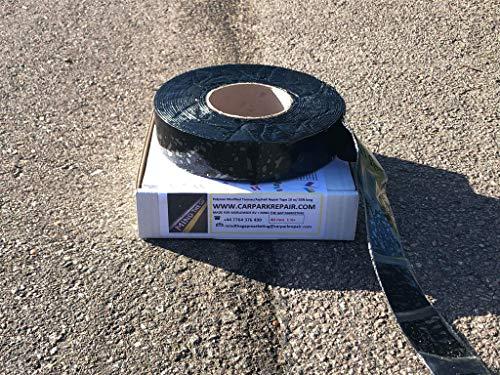 Nastro per riparazioni di giunti di asfalto per strade e sentieri, da applicare con fiamma ossidrica, larghezza: 30 mm; lunghezza: 10 m