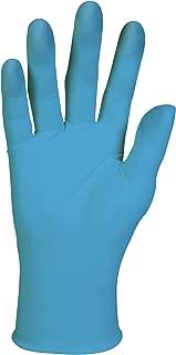 Kleenguard 41071 G10 Nitrile Thin Mil Glove for Vending, Medium, Light Blue (Pack of 20)
