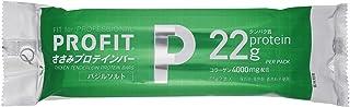 丸善 PROFITささみプロテインバー バジルソルト 130g ×10袋