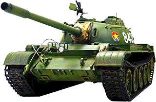 HOOBEN 1:16 T55A Russian T-55 A Medium Tank RC Dynamic Tanks KIT with Metal Gearbox, Metal Barrel,Metal Sprocket and Idler and Metal Suspension C6602K 1/16