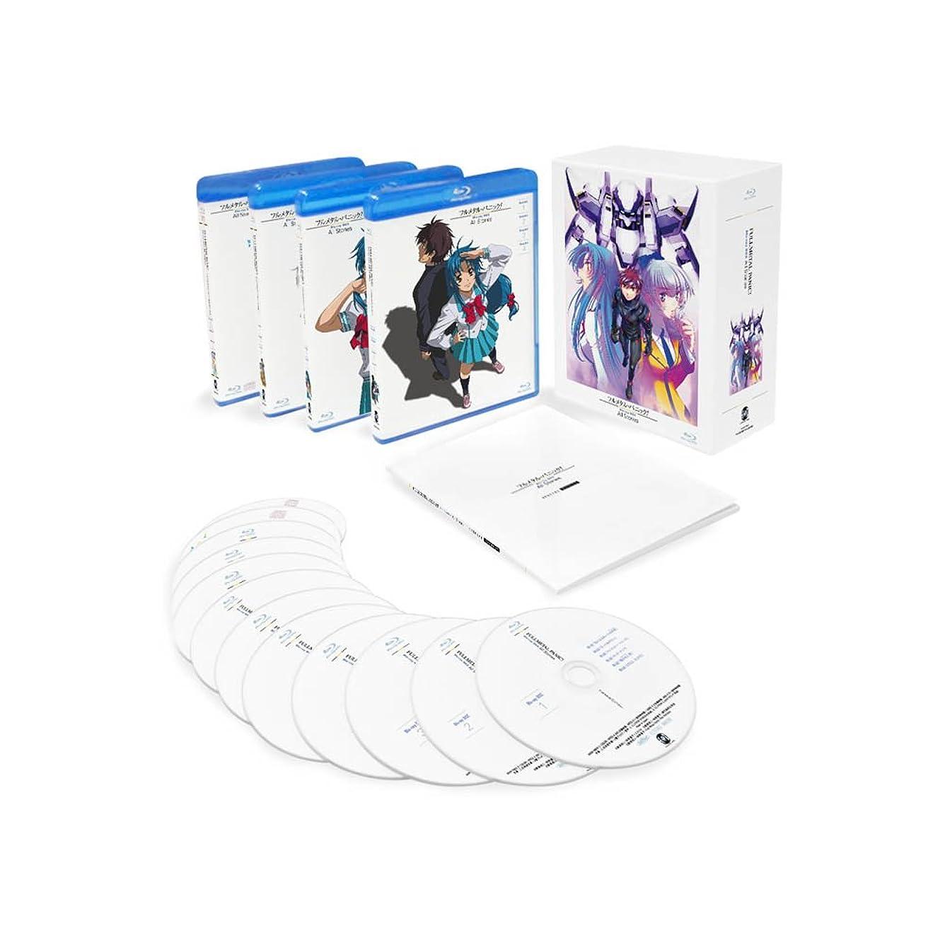 ベンチバズ固めるフルメタル?パニック! Blu-ray BOX All Stories
