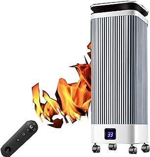 NFJ Calefactor Cerámico,Termoventilador Portátil, Calefactor Cerámico Termoventilador,High Tower Heat Deluxe Calefactor Cerámico - Termostato,2000 W, para Cuarto/Oficina