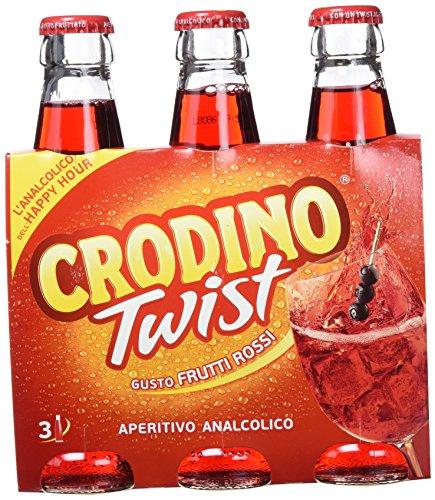 Crodino Twist Frutti Rossi - 3 x 175 ml