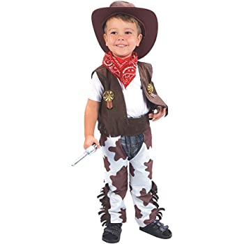 Theme Fancy Dress Disfraz infantil de Vaquero. 3 años: Amazon.es ...