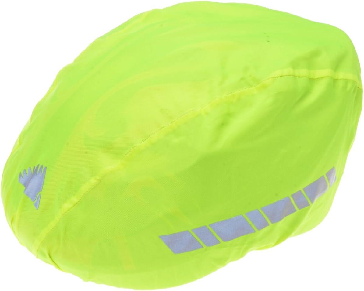 61KdNoM5UoL. AC SL1200  - Filmer 46.850 Regenschutz Helm / Überzug für Fahrradhelm / Reithelm etc. - neongelb - reflektierend
