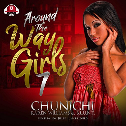 Around the Way Girls 7 audiobook cover art