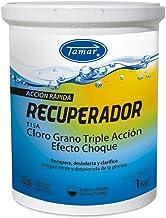 Tamar - Cloro Recuperador para Piscinas en Grano, Bote de 1 Kilo.