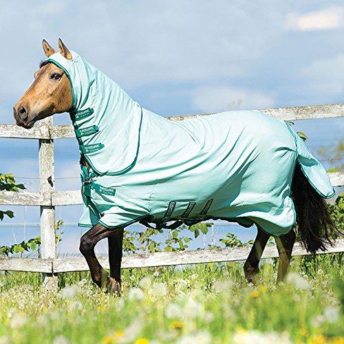 Horseware Ekzemerdecke Rambo Pony Sweetitch Hoody - Ice-Green/Green, Groesse:85