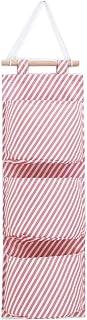 Sac de rangement à suspendre avec 3 poches, imperméable mural, sac suspendu porte organisateur, adapté pour la cuisine, la...