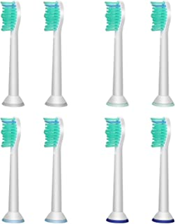AGPTEK Toothbrush Heads Replacements with Philips fits Plaque Control Gum Health Diamond Clean Protective Clean Easy Clean...