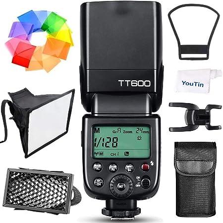 【Godox正規代理&日本語取説書】GODOX TT600 フラッシュ スピードライト マスター/スレーブフラッシュ 内蔵 2.4G ワイヤレストリガ・システムGN60 Canon/Nikon/Pentax/Olympus DSLR カメラ対応