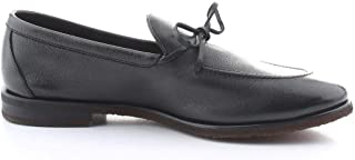 Luxury Fashion | Henderson Men 70401BLACK Black Leather Loafers | Spring-summer 20