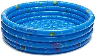 STARKWALL 150cm Inflable Baby Swimming Pool Piscina Portátil para Niños Piscina De Natación Niños Alberca para Bebé Piscina Agua Azul