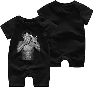 Lil Wayne Newborn Baby Boy Girl Short Sleeve Jumpsuit Bodysuit