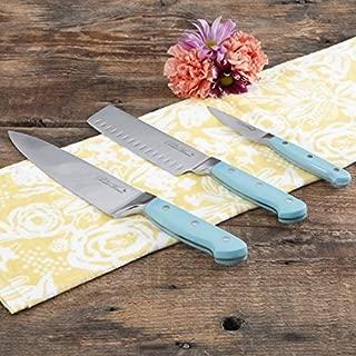 The Pioneer Woman Teal 3-Piece Cutlery Set