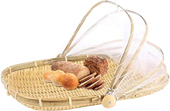Bloomma Cesta de mimbre hecha a mano para decorar cestas, frutas, aperitivos, restaurantes, cocina, mesa, oficina