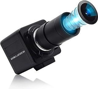 ELP 超HD 4K ズームWEBカメラ バリフォーカル HD 5-50mmレンズ ウルトラHDウェブカメラ 3840X2160@30fps USBミニカメラ Sony IMX317センサーカメラ付き 800万画素4K PC 外付けカメラMac...