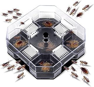ブラックキャップ ゴキブリ コンバット ハンター ゴキブリ 屋内用 効率的なゴキブリラップキラーキャッチャーボックス物理的な捕獲、再利用可能、無毒および環境に優しい