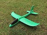 Styroporflieger Flugzeug, Kinder Flugzeug Spielzeug Outdoor Wurf Segelflugzeug Werfen Fliegen Modell für Kinder Kindergeburtstag -