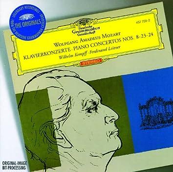 Mozart: Piano Concertos Nos.8, 23 & 24