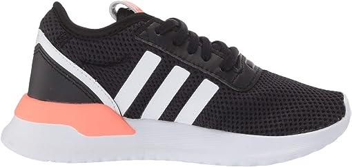 Black/White/Signal Coral