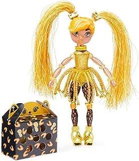 Twisty Girlz Series 2 LadyGold Transforming Doll to Bracelet with Mystery Twisty Petz