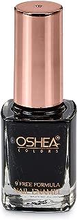 OSHEA Nail Enamel, 30 Black Panther, 10 ml