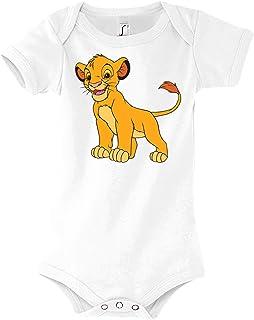 Youth Designz Baby Body Strampler Modell König Simba