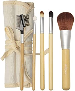 Just Gold 5 Pieces Brush Set - Cream, JG-9258, Pack of 1