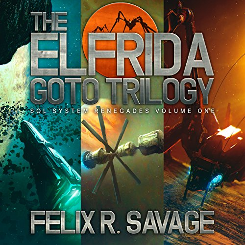 The Elfrida Goto Trilogy     The Solarian War Saga, Books 1-3              De :                                                                                                                                 Felix R. Savage                               Lu par :                                                                                                                                 Ryan Kennard Burke                      Durée : 33 h et 39 min     Pas de notations     Global 0,0
