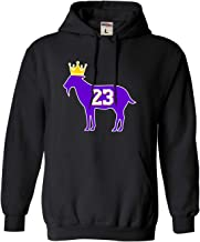 Go All Out Adult Goat James G.O.A.T. King Sweatshirt Hoodie