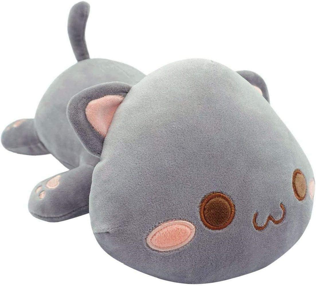 Cute Cat Plush Toy Stuffed Animal Soft lowest price Kitten Plus Anime Pet Seasonal Wrap Introduction