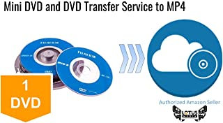 Mini DVD and DVD Transfer Service to MP4 by Lotus Media