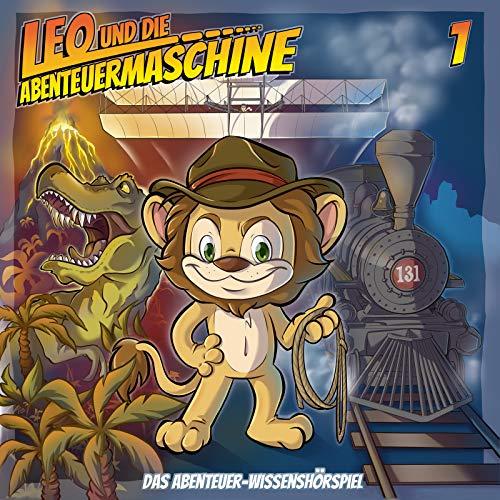 Leo und die Abenteuermaschine Folge 1 - Leo in der Urzeit   Kinderhörspiel