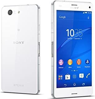 Sony Xperia Z3 Compact D5833 Unlocked Cellphone, International Version, White